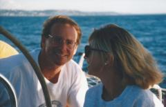 Gordon & Syd Sailing Puget Sound